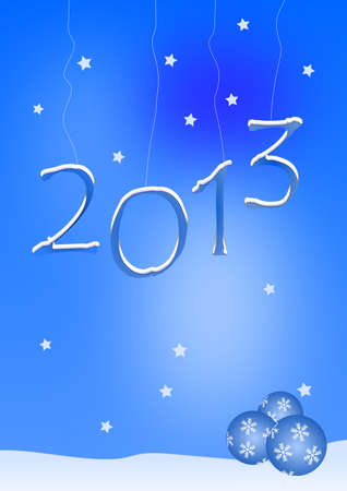 Happy New Year - 2013 Stock Photo - 13307473