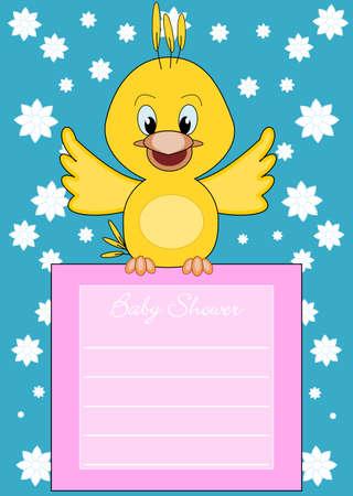 little bird: Baby Shower - lindo pajarito lleva la informaci�n