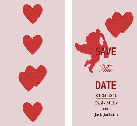 invitation card - wedding or birthday party Vector