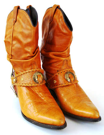 rodeo cowgirl: A Comfortable Pair of Cowboy Boots