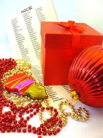クリスマスのプレゼントとサンタさん