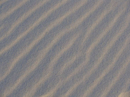 erosion: Background of wind ripples in a sand dune Stock Photo