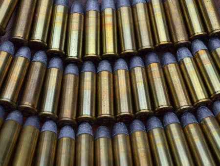 Rows of Ammo, bullets  photo