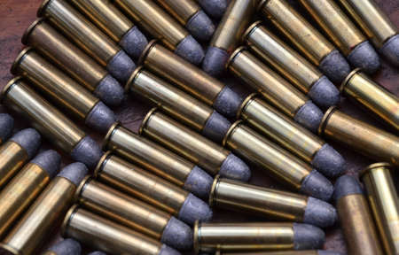 38: A Pattern of 38 Caliber Bullets