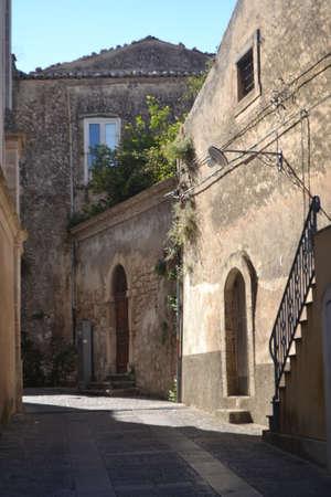 ragusa: Ancient buildings of Ragusa Ibla Sicily, Italy