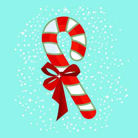candycane: Yummy candycane with bow
