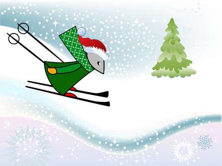 マウスのスキー