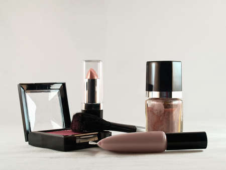assorted generic cosmetics