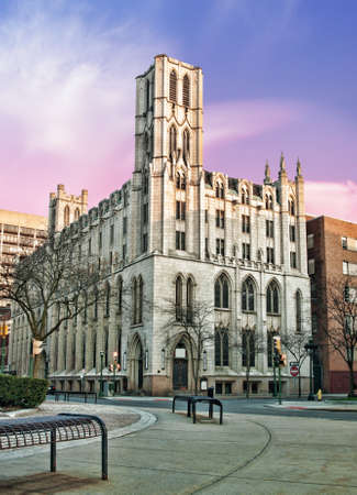 the historic and beautiful mizpah tower, located in syracuse,new york Stock Photo