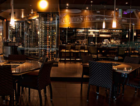 upscale: wine bar and resturant before opening