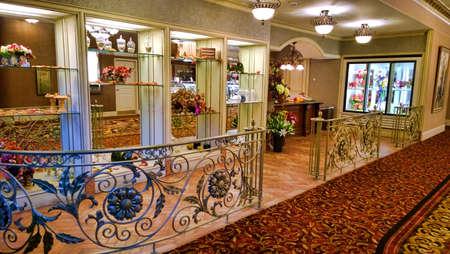 upscale: upscale floral shop