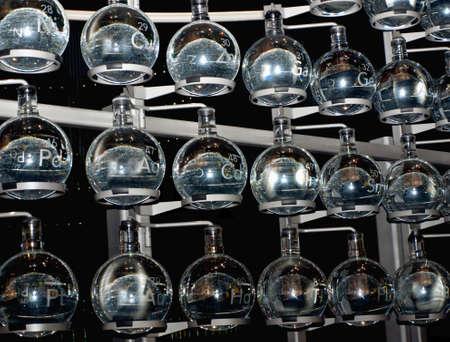labratory: glass labratory beakers