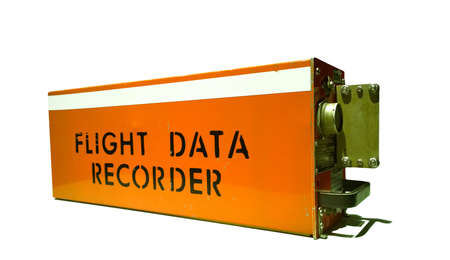 航空機のフライト データ レコーダー