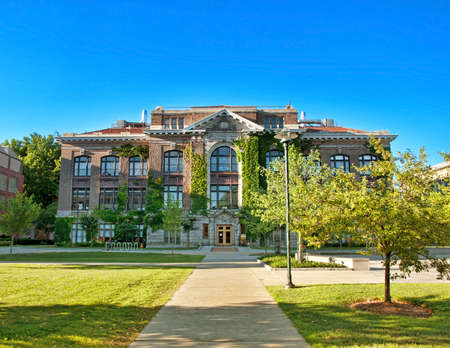 Bowne Hall on the syracuse University campus, Syracuse, New York