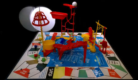 Rochester, New York, USA. October 24, 2015. The Strong National Museum of Play. Vintage Mouse Trap Game on display Editorial