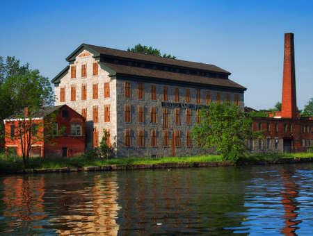 town of erie: Seneca Knitting Mill, Seneca Falls, New York