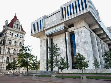 Albany, New York, USA. September, 4,2016. The Robert Abrams Building for Law and Justice
