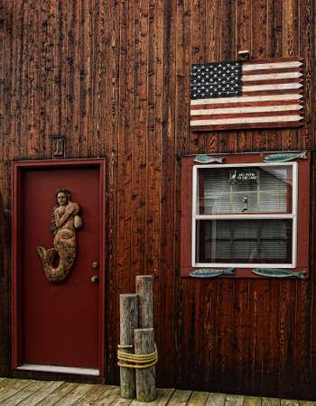 boathouse exterior         Editorial