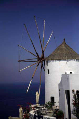 grecian: Santorini Windmill