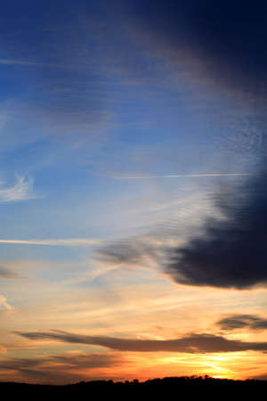 Sunset over Leeds photo