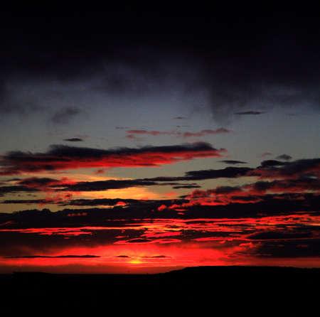 nighttimes: Fire in the sky Snaefellsnes Peninsula Stykkisholmur Iceland