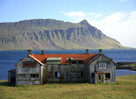 A derelict building in Southern Iceland Stock Photo - 796444