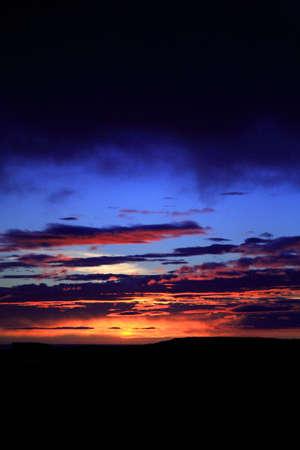 nighttimes: Amazing and colourful Icelandic sunset