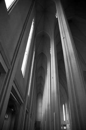 reykjavik: Iglesia Interior Reykjavik Islandia De Hallgrimskirkja