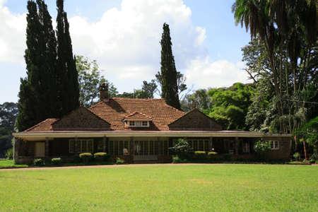 The Karen Blixen house Nairobi Kenya Stock Photo