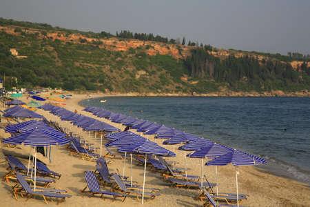 Lourdas beach Kefalonia Greece