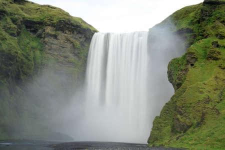 Skogafoss waterfall in Iceland Stock Photo - 2046647