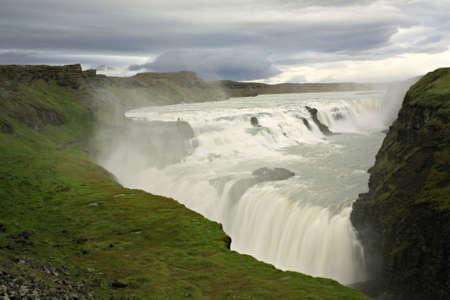 Gulfoss waterfall in Iceland Stock Photo - 2046826