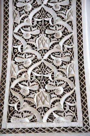 afrique du nord: Fermeture du Palais d�coration murale Maroc en Afrique du Nord