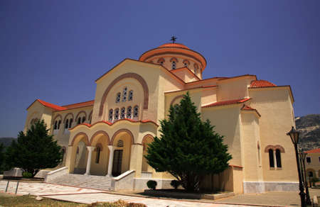kefallonia: The new Saint Gerasssimos Monastrey Kefalonia Greece