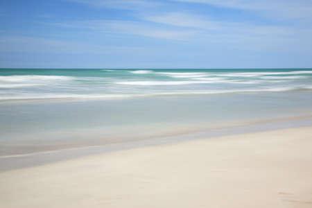 The tranquil beach at Varadero in Cuba Stock Photo - 4197196