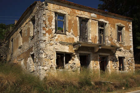 derelict: Derelict House in Kefalonia, Greece