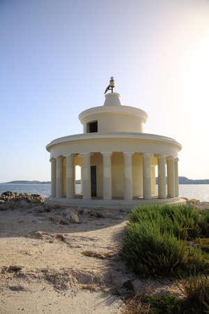 ag: Ag Theodori Lighthouse Argostoli, Kefalonia  Stock Photo