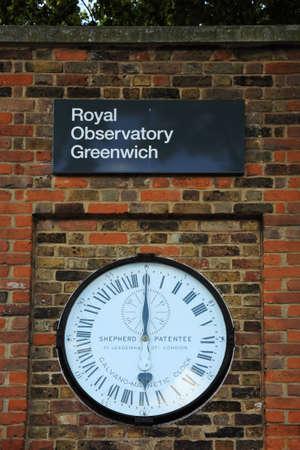 greenwich: Royal Observatory Greenwich London UK