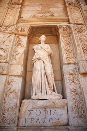 Sophia, the statue of Wisdom at Ephesus Turkey Stock Photo - 8582513