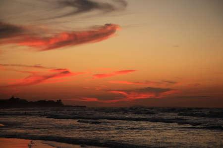 varadero: Stunning Cuban Sunset over Varadero Beach