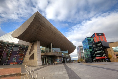 lowry: The Lowry at Salford Quays, Manchester, England  Editorial