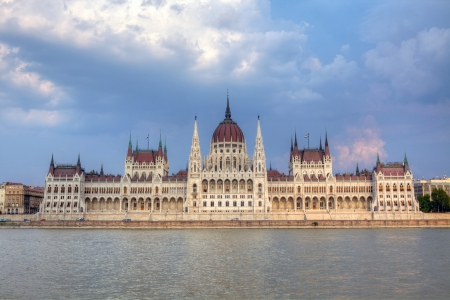 Parliament Building in Budapest, Hungary  photo