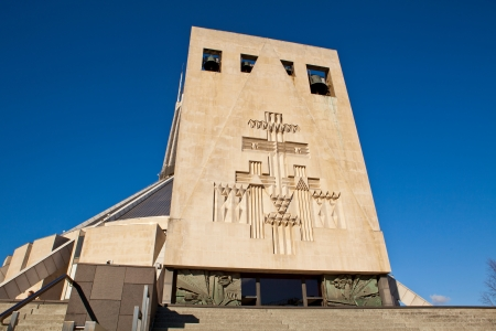 congregate: The Bell Tower of Liverpool Metropolitan Cathedral, Roman Catholic Cathedral