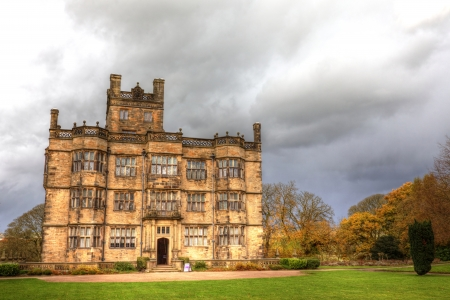 Gawthorpe Hall an Elizabethan country house in Lancashire, England