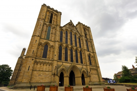 north yorkshire: Ripon Cathedral in North Yorkshire