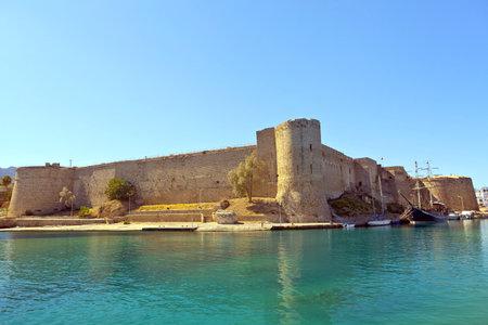 st hilarion: Medieval Castle in Kyrenia, Cyprus