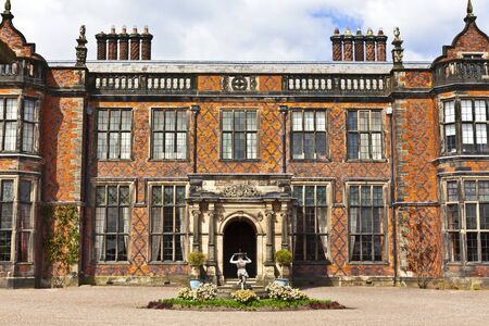 stately home: Historic English stately home in Cheshire, UK. Editorial
