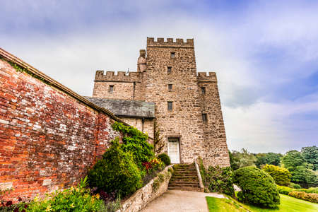 castle district: Historic Sizergh Castle and Garden is a stately home and garden at Helsington in the English county of Cumbria. Editorial