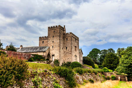 cumbria: Historic Sizergh Castle and Garden is a stately home and garden at Helsington in the English county of Cumbria. Editorial