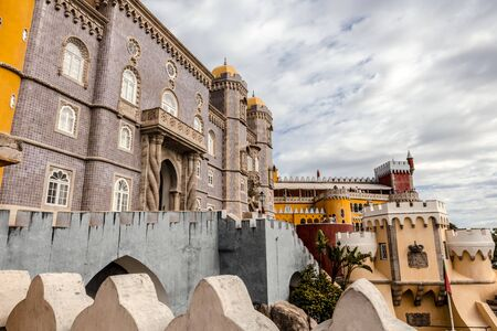 pena: Palace of Pena, or Castelo da Pena as it is more commonly known, Portugal, Sintra